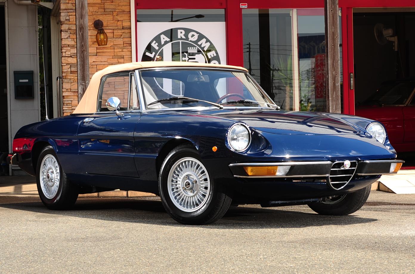 Alfa Spider Sr2