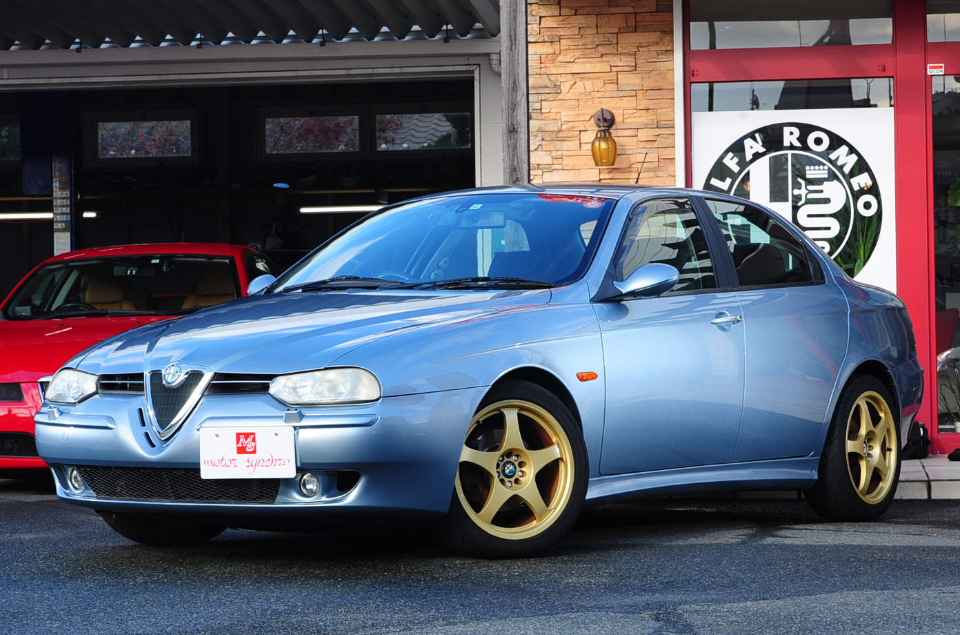 シーガルブルーの156 2.5 V6はいかがですか?